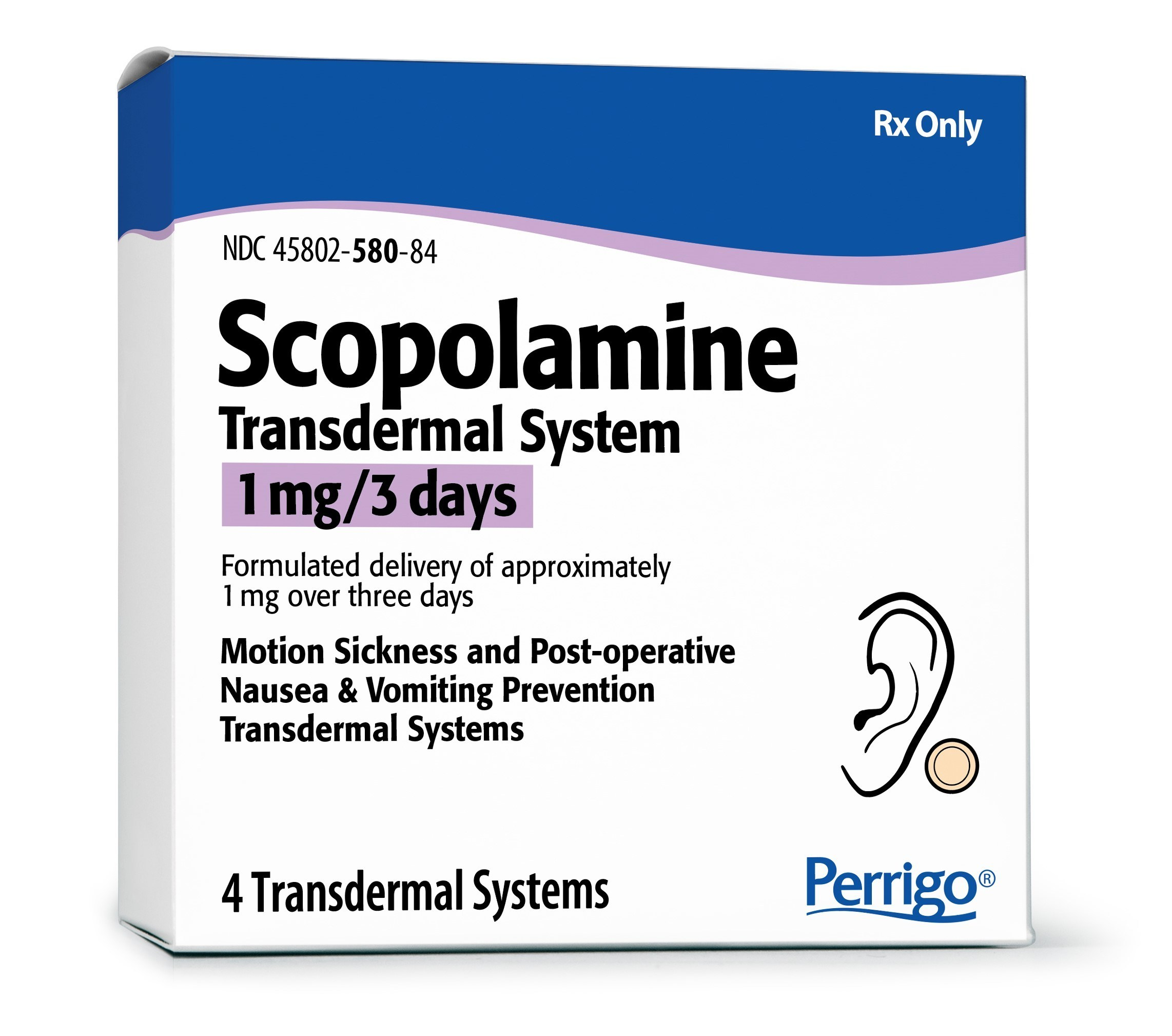 Scopolamine Patch